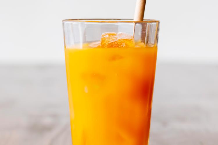 オレンジジュース割り
