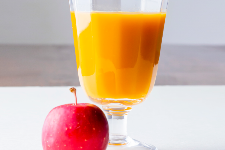 リンゴジュース割り