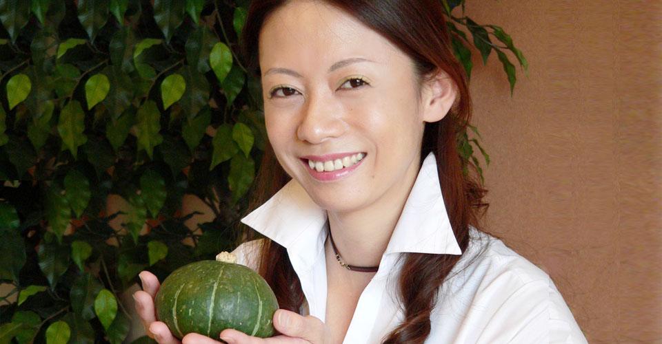 野菜ソムリエの坂梨智恵子さん