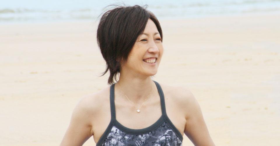 ヨガ講師の畑田由規子さん